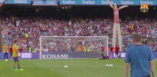 Barcelona divulga imagens de golos de Messi nunca vistos