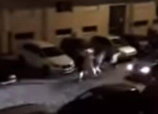 Condutor acelera e tenta atropelar várias pessoas em urbanização de Braga
