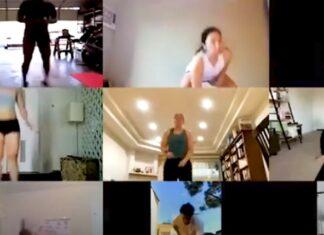 Personal Trainer mantém alunos motivados com aulas por vídeochamada durante quarentena