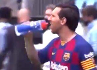 Vídeo revela tensão entre Messi e o treinador adjunto do Barcelona