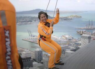 SkyWalk na Sky Tower a 192 Metros De Altura
