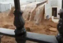 Tromba de água, granizo e rajadas de vento na Andaluzia deixam rastro de destruição