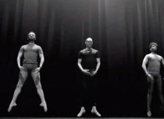 Cavani faz campanha para promover o ballet, num momento em que ainda não tem clube