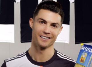 Cristiano Ronaldo faz anúnicio de publicidade em Itália a falar português