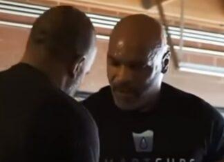 Mike Tyson faz treinos intensos para preparar luta contra Roy Jones Jr