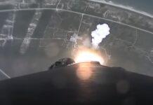 Vídeo mostra como é o Foguetão Falcon 9 Da SpaceX ao descolar e aterrar