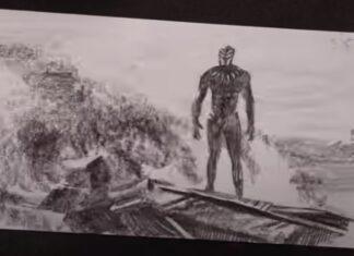 Artista passa mais de 100 horas a desenhar Flipbook do Pantera Negra