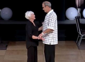 Casal de idosos ganha 1º prémio com dança inesperada