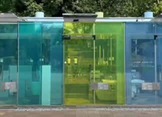 Casas de banho com paredes transparentes são última novidade no Japão