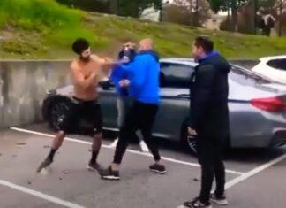 Líder dos Super Dragões faz de árbitro em luta de rua