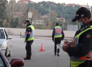 Condutor quase atropela polícias numa operação STOP em Coimbra