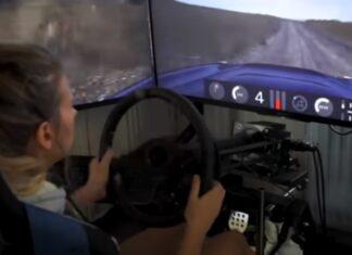 Piloto profissional de rally mostra como se prepara a partir de casa