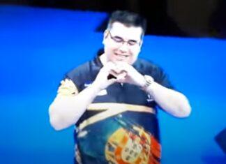 Português entra para a história ao vencer Grand Slam de dardos