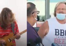 Português faz música de heavy metal com gritos de pessoas durante eleições americanas