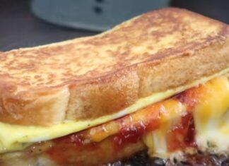 Receita de tosta na frigideira abre o apetite de qualquer um