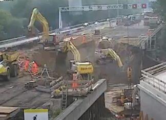 Túnel de 70 metros na Holanda é construído em apenas 2 dias