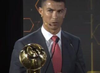 Cristiano Ronaldo faz comentário sobre o frio que apresentadora sentia