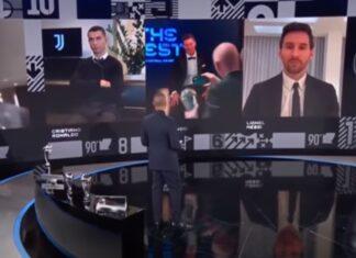 Cristiano Ronaldo não esconde descontentamento de ter perdido o prémio The Best
