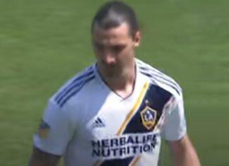 Primeiro golo de Ibrahimovic pelo LA Galaxy eleito o melhor da MLS