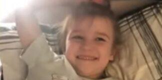 Menina de 6 anos só com um braço chora com notícia que vai ter uma prótese