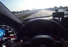 BMW M5 passa a 310km/h pela polícia