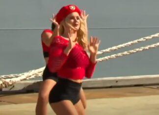 """Bailarinas dançam """"twerk"""" para marinha australiana e são criticadas"""