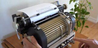 Máquina de escrever japonesa de 1940 tinha 1172 caracteres