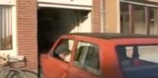 Idoso mostra como se estaciona em garagem super apertada