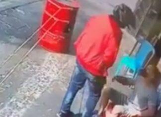 Ladrão arrepende-se ao ver que vítima era seu amigo