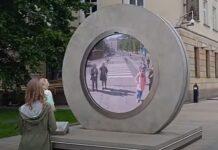 Portais ligam cidades na Lituânia e Polónia em tempo real