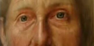 Artista faz retratos que «envelhecem» quando mudamos o ângulo de visão