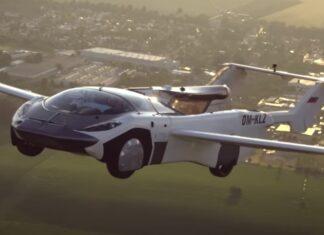 Carro voador AirCar faz primeiro voo entre duas cidades com sucesso