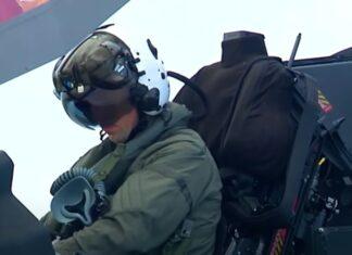 Vídeo mostra F-35 de perto e capta aterragem vertical
