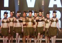 Grupo faz apresentação de dança taitiana em Paris e deixa todos rendidos